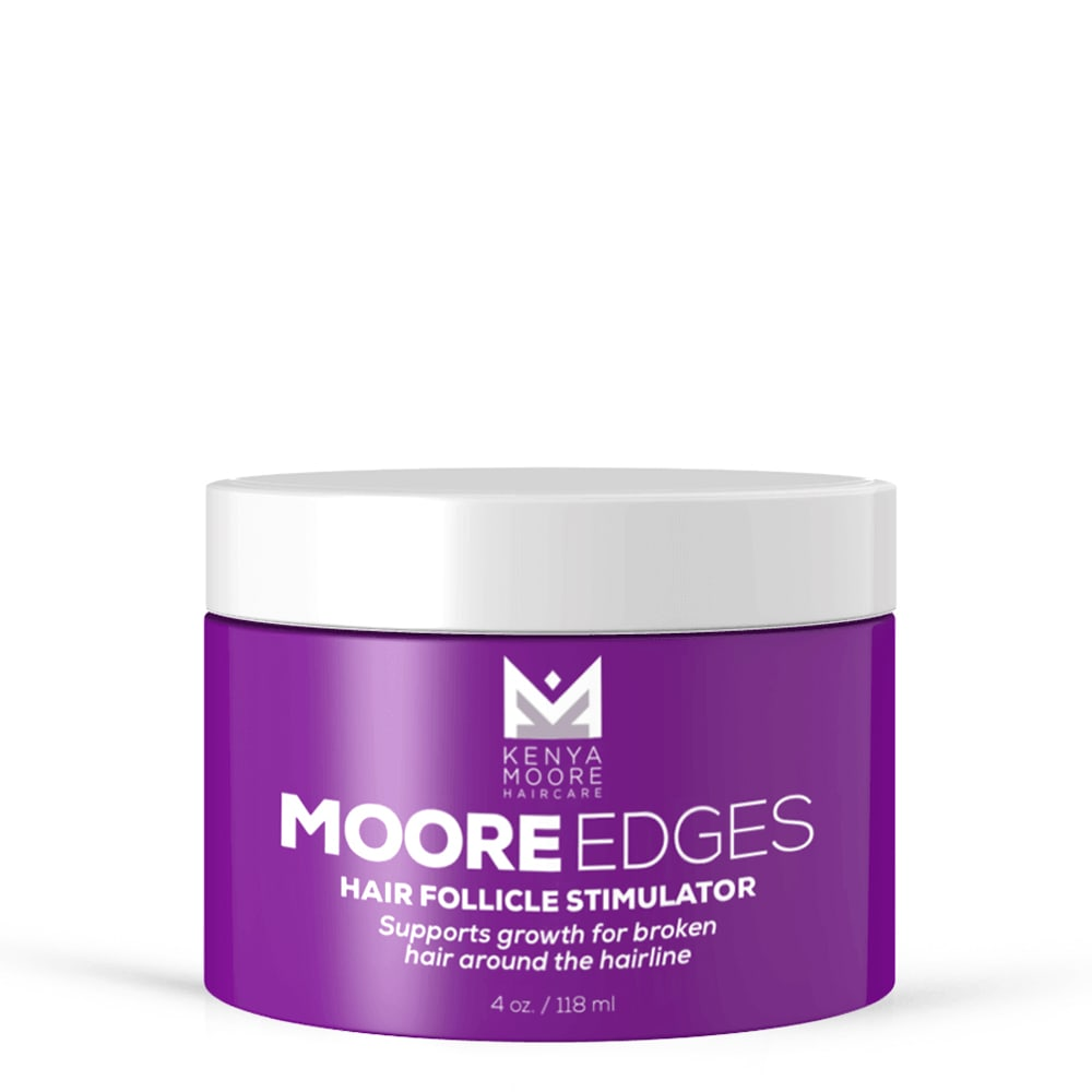 Moore Edges Kenya Moore Hair
