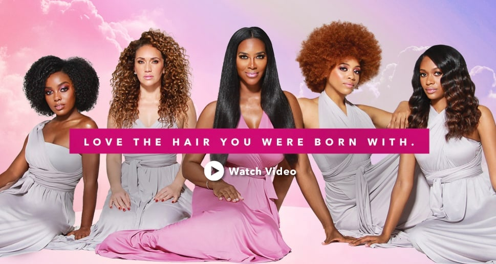 Kenya Moore Hair Love The Hair You Were Born With